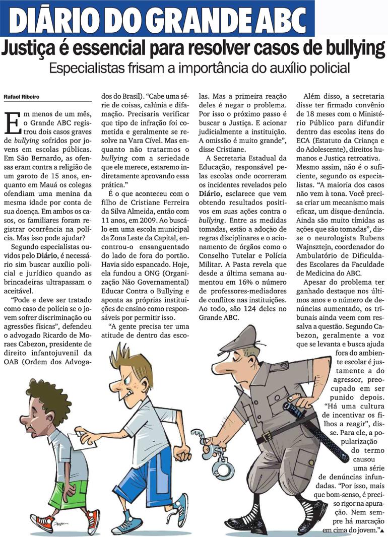 apeoesp - justiça é essencial para resolver casos de bullying