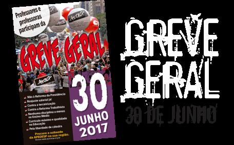 GREVE GERAL - 30 DE JUNHO 2017
