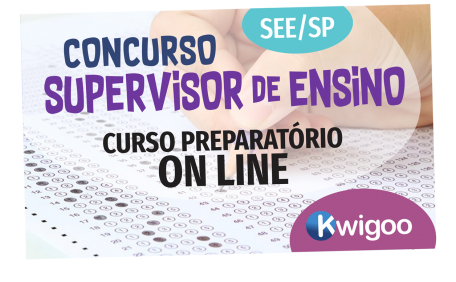 CONCURSO PREPARATÓRIO - SUPERVISOR DE ENSINO - ON LINE